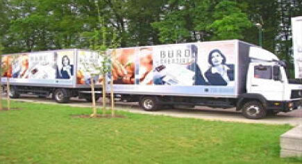 Der Büro Creative Showtruck